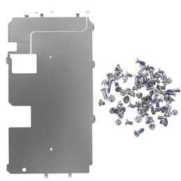 iphone plus screw Coupons - Screen Back Classic Metal Plate Shield with full set screws for iPhone 7 7 Plus 8 8 Plus