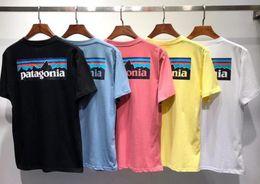 x hombres camiseta Rebajas Diseño de marca BEAMS x patagonia Camiseta Manga cuello redondo Camiseta Transpirable Hombres Mujeres Amantes Moda hombres mujeres camisetas