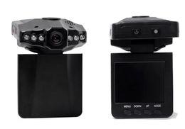 luz de cabeça de vídeo Desconto China Fábrica 2.5 polegadas TFT HD gravador de condução 6 luzes da cabeça do carro visão noturna infravermelha Carro DVR mini car loop de vídeo comentários câmera