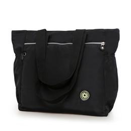 637d5945baf5 2019 Fashion Women s big handbag New 2017 nylon waterproof shoulder bag  casual bag brief all-match large cloth fashion leisure bag travel