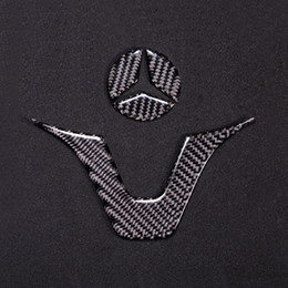 Araba Styling Karbon Fiber İç Sticker AMG Rozet Direksiyon Amblem Sticker Çıkartması Mercedes C Sınıfı W204 W205 W211 W203 GLA nereden