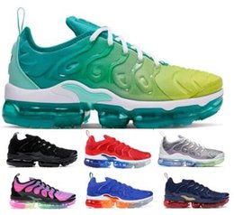 air sneakers max Coupons - Designers Tns Plus Trainers Running Shoes Sneakers 2019 Tning Maxes Lemon Lime Chaussures Requin Mens Womens Neon Airing Femme Shoes