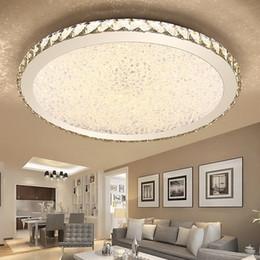 montagem embutida montagem em teto Desconto Modern K9 LED de Cristal Flush Mount Luzes de Teto Luminárias de Casa de cristal Misto Luminárias para Sala de estar Quarto Cozinha