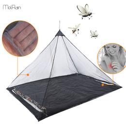 Acampamento ao ar livre Mosquiteiro Manter Inseto Afastado Mochila Tenda para a Única Cama de Acampamento Anti Mosquito Net Bed Tent Decoração De Malha de