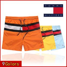 Maiôs de quadril on-line-HOT 2019 Atacado-Quick Dry Mens v lone praia Shorts Mens Shorts Swimwear maiôs casuais dos homens Shorts Hip Hop Mens Bermuda