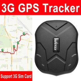 Wcdma 3g tarjeta sim online-TK905 GPS Vehicle Magnetic Tracker Real Time Locator 3G WCDMA Car Tracking Anti-theft Support 3G Sim Card