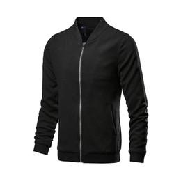 Stand ropa ropa ropa online-MRMT 2018 Marca Chaquetas de Los Hombres Delgado Color Sólido Collar de Abrigo para Hombre Chaqueta Casual Ropa de Vestir Exterior ropa
