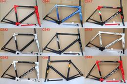 52cm fahrradrahmen online-2019 neueste Colnago C64 Carbon Rennrad Rahmen Vollcarbon Fahrradrahmen T1100 UD Carbon Rennrad Rahmengröße 48cm 50cm 52cm 54cm 56cm