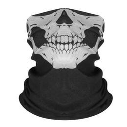Canada Foulard magique multifonctionnel sans couture, masque d'équitation, isolation thermique, accessoires pour Halloween, tête de squelette, serviette de visage-Z13.B Offre