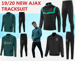 Canada nouvelle tenue d'entraînement Ajax 2019/2020 2019/2020 Survêtement Ajax VAN DE BEEK DOLBERG uniforme de football Kluivert Taille S-3XL cheap size suits Offre