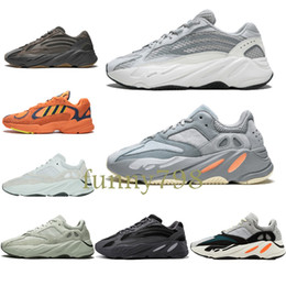 sneakers for cheap dcce2 13444 2019 adidas yeezy yeezys boost alta moda scarpe di design di lusso runner  analogico vanta geod 700 V2 3M scarpe Kanye West Mauve Salt Vanta uomo  donna ...