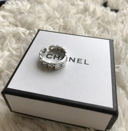 Wholesale Designer Echt Sterling Silber Vintage Ringe für Frauen Liebhaber Punk Fashion Coole Schmuck Schädel kanal Ring Bijoux Geschenke
