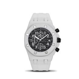mochila eletrônica Desconto Enviar caixa alta relógios masculinos de qualidade homens fábrica mecânico automático assistir relógio totalmente automático Mens Watch Homens de Aço Inoxidável