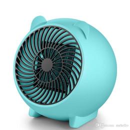 Canada XY-607 Mini 250 W Heater Portable Winter Warmer Fan Réchauffeur électrique personnel pour la maison / bureau en céramique petits radiateurs US / EU Plug Offre