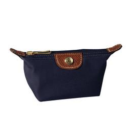 Модные сумки онлайн-2018 женщин нейлон нулевой кошелек водонепроницаемый макияж сумка нейлон клатч пакет мода косметические сумки шампанское случаи