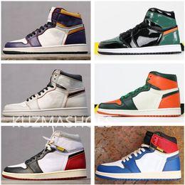 Scarpe da basket alte da uomo di alta qualità Scarpe da ginnastica basse da scarpa x 1s Scarpe da ginnastica sportive da donna arancione verde di
