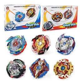 set di furia metallica beyblade Sconti 3pcs / set Toupie Beyblade Burst Evolution Arena Metal Fusion B73 B74 B86 B97 B100 Metal Battle Top Fury Maestro Launcher Kid Toy J190427