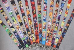Mixed Dos Desenhos Animados Anime DRAGÃO BOLA Z Super Saiyajin Saiyan Super Goku Gohan Vegeta Brinquedo CHAVES cartão de IDENTIFICAÇÃO Cordão No Pescoço cintas Shiip Livre de Fornecedores de colhedores de chave de mistura
