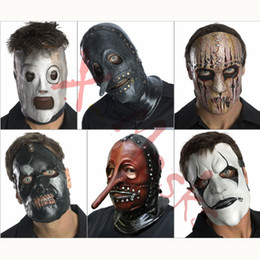 masques à nœuds coulissants Promotion Slipknot Masque accessoires Slipknot top jouets chapeau hommes mick taylor mascara joey corey Shawn Crahan cosplay costume d'Halloween