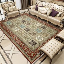 Wishstar luxe persan style Tapis Tapis Grand Ethnic géométrique Salon Tapis  moderne turc Maison décor oriental Tapis