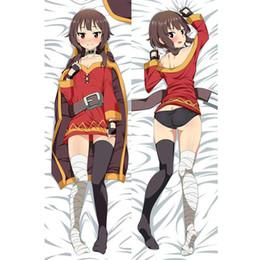 KonoSuba Dakimakura Megumin Anime Hugging Body Pillow Case Cover 150x50cm