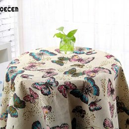 Retro Butterfly Printed Natural Cotton Linen Fabric Patchwork Linen Fabric Tissus For Table Cloth Curtain Pillow OM90 от Поставщики зеленая шелковая куртка