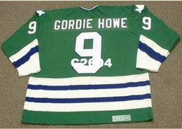 a4da6d026dc Mens  9 GORDIE HOWE Hartford Whalers 1979 CCM Vintage RETRO Home Hockey  Jersey or custom any name or number retro Jersey hockey jerseys hartford  whalers on ...