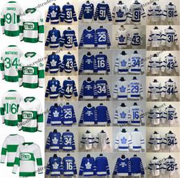 Kadri jersey online-2019 St. Pats Toronto Maple Leafs John Tavares Auston Matthews Mitchell Marner William Nylander Andersen Morgan Rielly Kadri Hockey Jersey