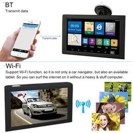 """Navegação gps gps on-line-Novo 9 """"Android Carro Navegação GPS Caminhão Navegador Sat Nav Mapa Livre W / DVR camera Bluetooth"""