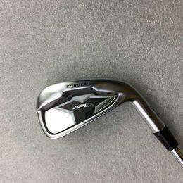 2019 ferros de golfe rígidos Venda Hot Golf Clubs 8PCS 2019 APEX Golf Irons Set clubes APEX 2019 3-9P regular / Stiff Aço / grafite eixos DHL frete grátis ferros de golfe rígidos barato