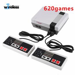 n videos Rebajas 620 jugadores de juegos Mini TV Consola de juegos portátil Consola de video para juegos de Nes Juegos clásicos Juego de juegos con doble gamepad