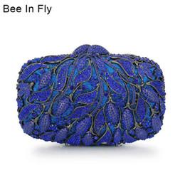 2019 sacos de embreagem de azul royal Deslumbrantes mulheres de azul royal noite embreagem bolsa e bolsa de casamento nupcial embreagens partido cadeia bolsa de ombro desconto sacos de embreagem de azul royal