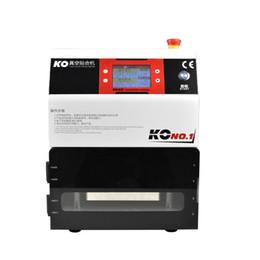 2019 agujero negro de manzana KO No.1 OCA Máquina de laminación al vacío para teléfonos Pantalla táctil LCD Restaurar Máquina de reparación de pantalla laminador oca