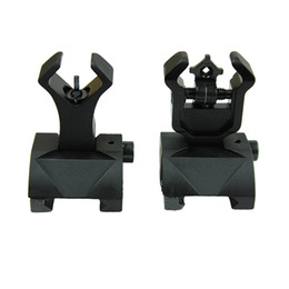 Argentina AR 15 Tactical Flip up Front Rear Sights Set Ajuste de hierro Picatinny Iron Views Suministro