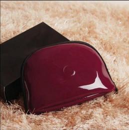 Wholesale Vente chaude Marque CC Cosmétique sac PU zipper imperméable sac beauté cas cosmétique maquillage organisateur sac avec boîte cadeau de mariage Anita Liao