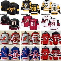 Top Herren # 81 Phil Kessel # 18 Alex Galchenyuk # 10 Artemi Panarin # 24 Kaapo Kakko # 76 PK Subban # 86 Jack Hughes Hockey Jersey von Fabrikanten