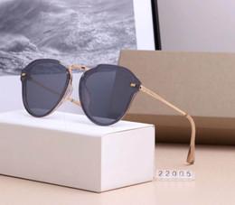 ess armbrustgläser Rabatt High-End-Luxusmarken für Männer und Frauen Brillen Mode vorgespannte Glanz Brillen Randlose Sonnenbrillen sind von hoher Qualität 2019 heiß