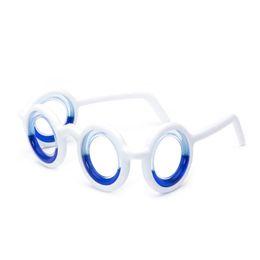 Air-liquide liquide anti-maux de mer lunettes unisexe enfants adultes bleu cadre souple détachable pliant portabl ? partir de fabricateur