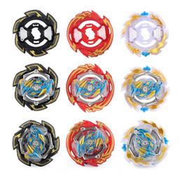 Brinquedos de beyblade grátis on-line-Liga de giroscópio Free Assembléia Gyro Super Battle Spinning Top Beyblade Kid Toy Lançador Três Em Um Kit 7 5xd O1