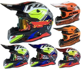 Moto casco l online-FOX moto off-road casco DH in discesa off-road moto casco integrale professionale corse KTM casco luogo strada forestale