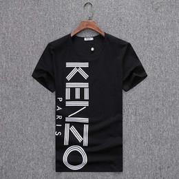 Canada Mode Imprimé T-shirts Hip Hop # 5687 Hommes Pullover Coton À Manches Courtes Design Été Style Tops Mâle T-shirts Casual T-Shirts Offre