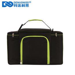Direktverkaufstote online-DENUONISS Picknicktasche mit großer Kapazität zum Mitnehmen Isolationstasche Aluminiumfolie Thermotasche Factory Direct Sales