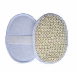 Esfregadores de banho de bucha on-line-Confortável Banho Buceta Esponja Para O Corpo Do Banheiro Acessórios Macio Esfregão Esfoliante Lavar Esponjas de Banho de Chuveiro SSA213