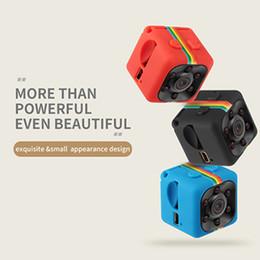 Micro mini gravador de voz on-line-SQ11 Mini câmera HD 1080 P 720 P para escolher Night Vision Mini Filmadora Câmera de Ação DV Gravador de voz de Vídeo Micro Câmera