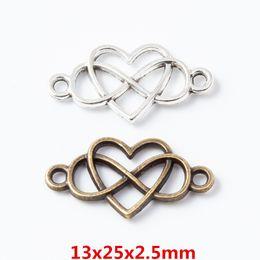 Tibetan Silver color Dance word design charms 30pcs EF0138