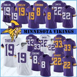 jersey 84 Rebajas 14 Stefon Diggs 19 Primos Adam Thielen Minnesota jerseys de Viking 8 Kirk 84 Randy Moss 55 Anthony Barr 82 Kyle Rudolph Jersey cosida