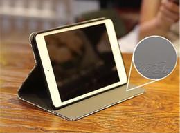 Canada Etui de luxe pour tablette en cuir avec broderie et grille pour iPad 5 6 7 8 9 ipad mini1 2 3 4 ipad pro 9.7