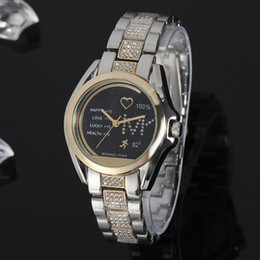 Montre de porcelaine dames en Ligne-2019 Femmes de luxe en Chine regarder Quartz-Batterie Designer Ladies Dress étanche robe en acier inoxydable Diamond Gold T / T T Watches A