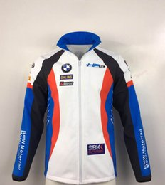 2019 motocross-sweatshirt Neuer BMW Sweatshirts New Motocross Sweatshirts Outdoor-Sport Softshell Jacke Motorradrennen Jacken Outdoor-Sport günstig motocross-sweatshirt