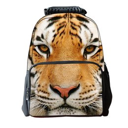 iMaySon 3D Animal Tiger Face Cute Design Reality Kids Printing Head School  Bag Unique Girl Youth Children s Day Gift Teenager Boys Backpack 152a1c55c6cb9